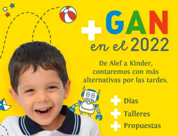 En 2022, + Gan de Alef a Kinder